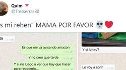 Una madre arrasa con la amenaza que le hizo a su hijo por WhatsApp: 80.000 'me gusta' en un