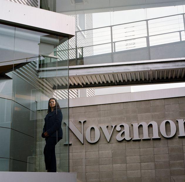 NOVARA, ITALY - AUGUST 22: Catia Bastioli of the Novamont poses for a portrait session, the Novamont...
