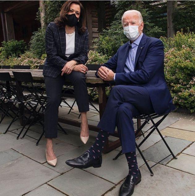 El presidente electo Joe Biden y la vicepresidenta Kamala