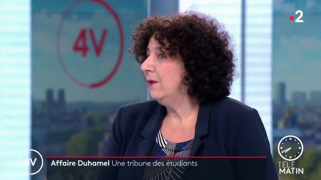 La ministre de l'Enseignement supérieur Frédérique Vidal sur France 2 le 14 janvier