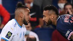 Neymar et les Marseillais se chauffent après match sur les réseaux