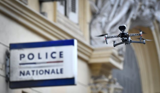 Durant le premier confinement contre le Covid-19, en mars 2020, des drones avaient été...