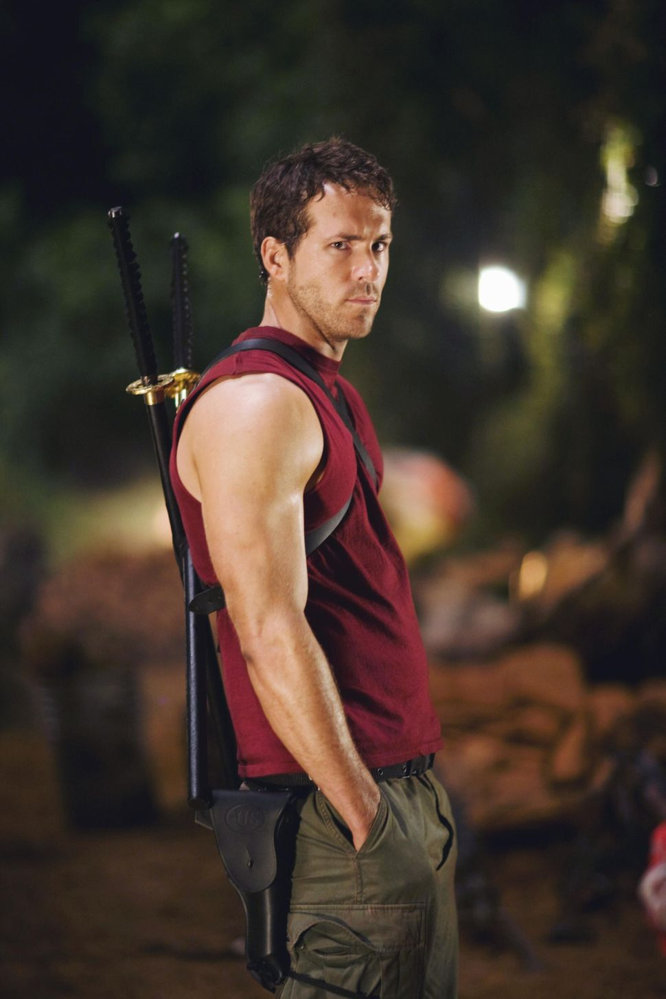 Ryan Reynolds in X-Men Origins - Wolverine (200()