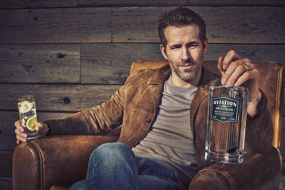 Ryan sold his Aviation Gin company for a reported $610m.
