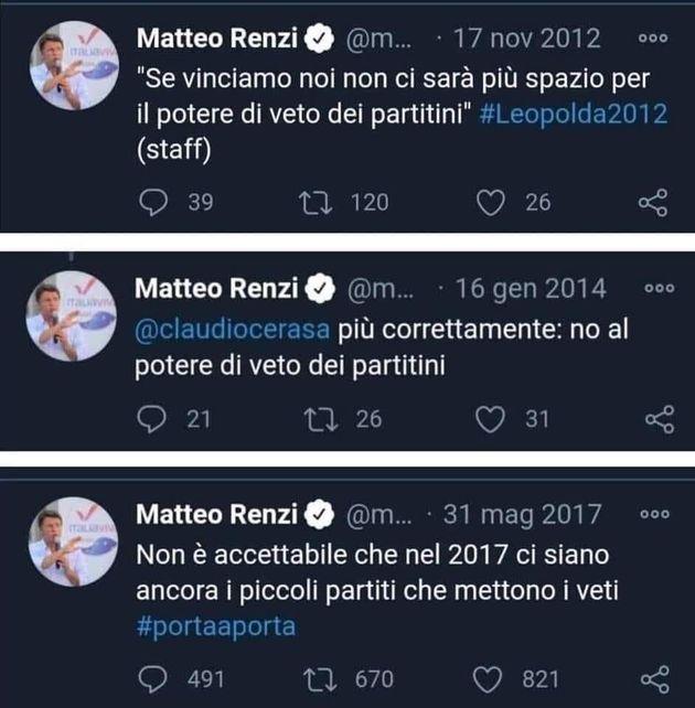 Tweet Matteo