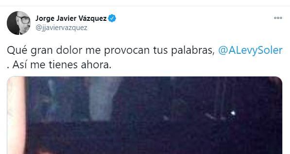El tuit de Jorge Javier