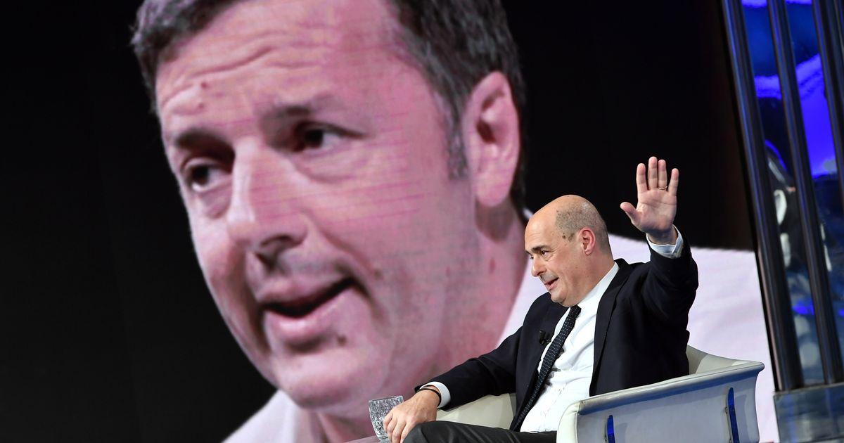 """Zingaretti: """"Mai con la destra sovranista e trumpiana, favorita da Renzi"""""""