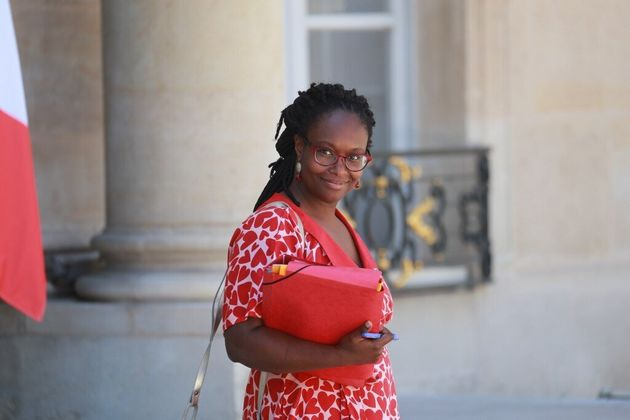 French Government's spokesperson Sibeth Ndiaye leaves after the weekly cabinet meeting at the Elysee...