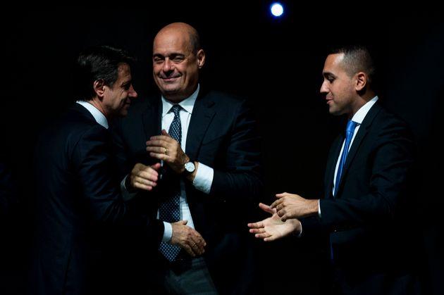 NARNI, ITALY - OCTOBER 25: Italian Prime Minister Giuseppe Conte, General Secretary of Democratic Party...