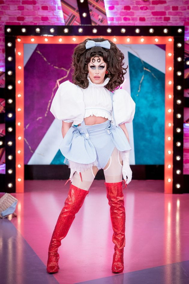 A'Whora is one of the 12 queens competing on the second series of Drag Race