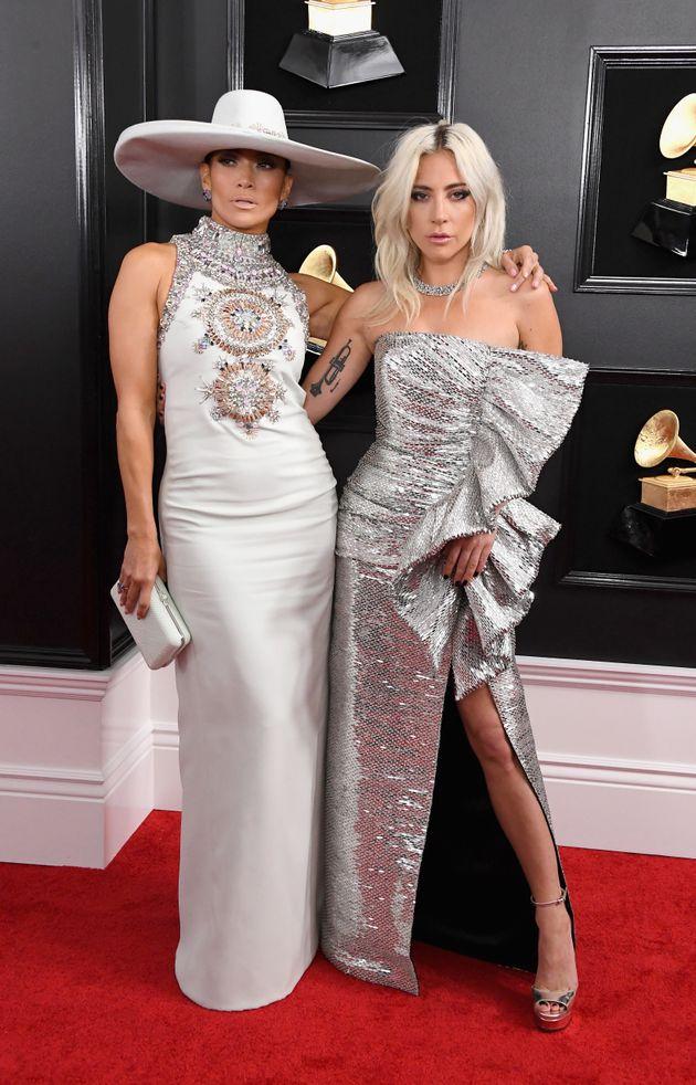 Jennifer Lopez, left, and Lady Gaga, right, will perform atPresident-elect Joe Biden's inauguration...