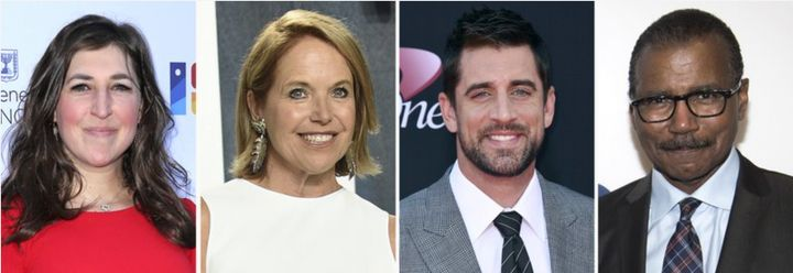 """<a href=""""https://www.huffpost.com/news/topic/katie-couric"""" target=""""_blank"""">Katie Couric</a>, Mayim Bialik, <a href=""""https://"""