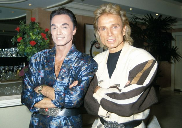 Siegfried & Roy during their residency at The Mirage in Las