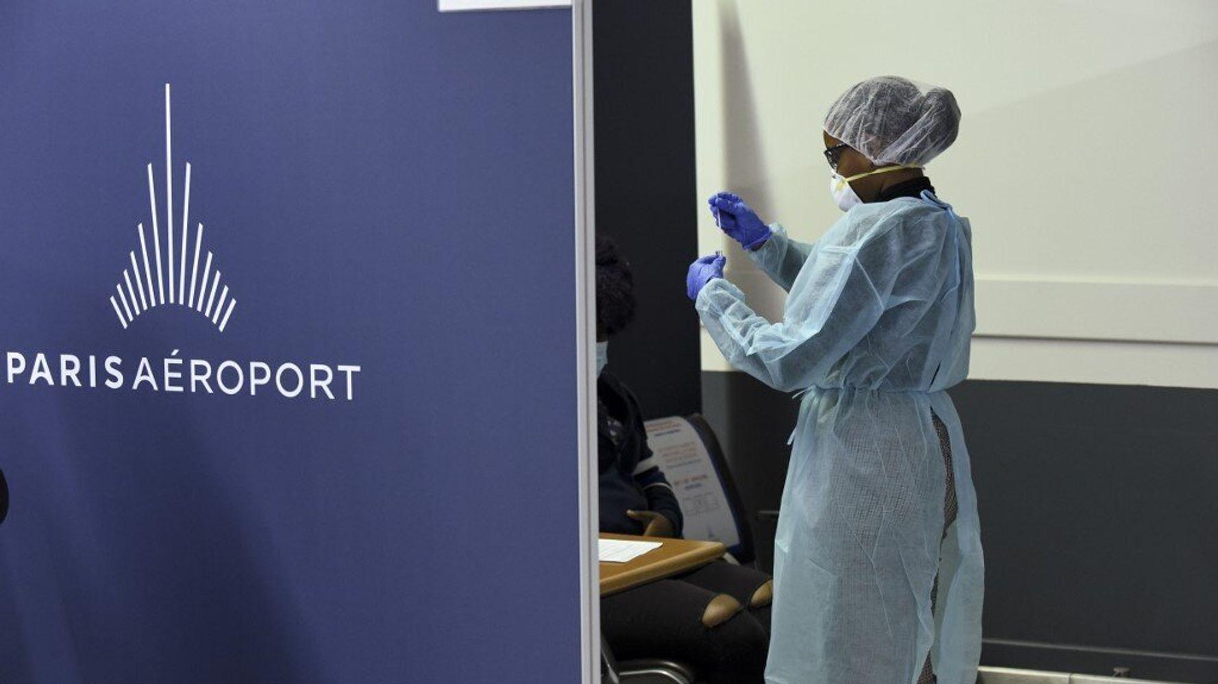 Covid-19: Castex annonce un test obligatoire pour entrer en France