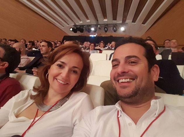 Imagen de los alcaldes de Ximo Coll y Carolina Vives, publicada en su cuenta de