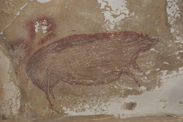 La peinture de cochon aurait 45.000
