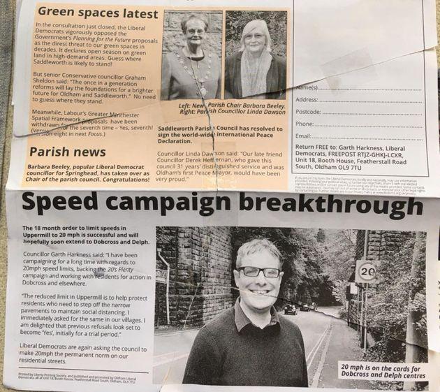 Oldham leaflet