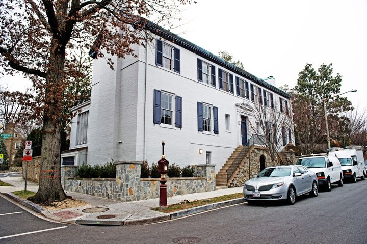 The home of Ivanka Trump and Jared Kushner, in Washington, D.C.'s Kalorama district.