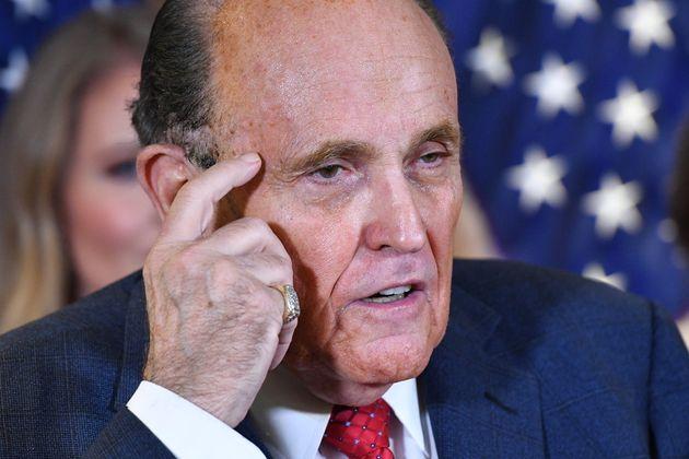 Rudy Giuliani, ici à Washington aux États-Unis, le 19 novembre