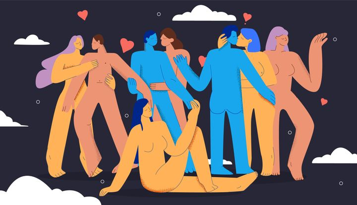 The author, who is polyamorous, went through two breakups at once during the coronavirus pandemic.