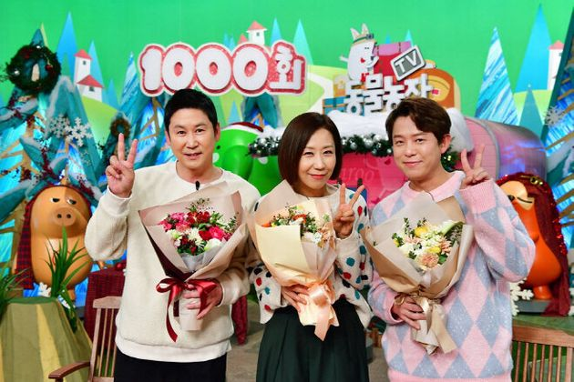 Shin Dong-yeop and Jeong Sun-hee have led the TV Animal Farm for 20 years.