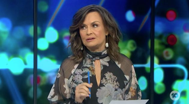 "'The Project' host Lisa Wilkinson said there is a ""problem"" with international tennis players..."