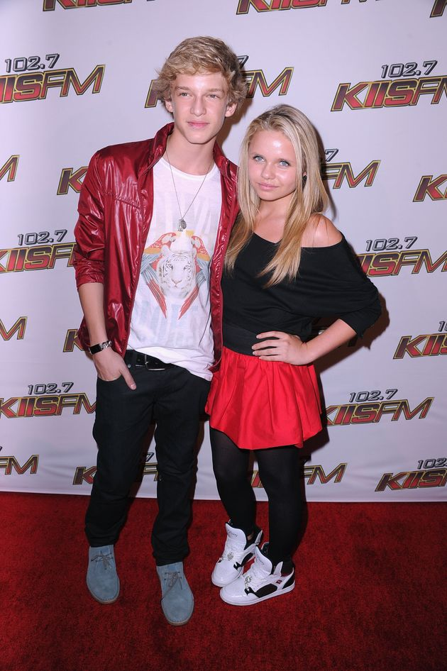 Cody Simpson and Alli Simpson pictured in LA in