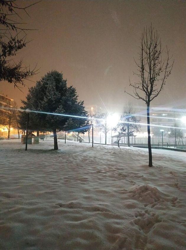 «Λέανδρος»: Ξεκίνησε η ψυχρή επέλαση - Χιόνια σε πολλές