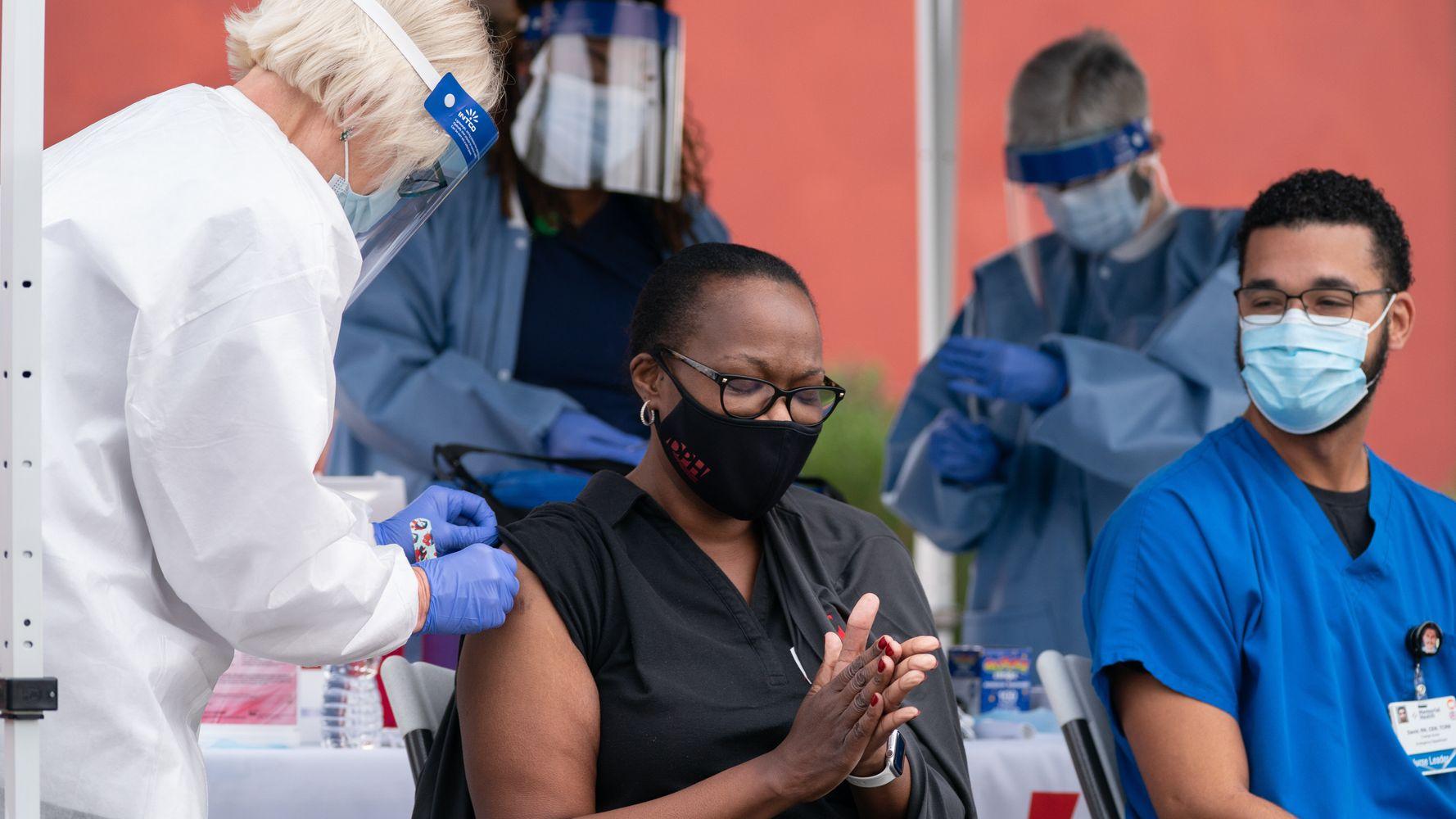 Coronavirus Vaccine Effort Falls Behind In The Deep South