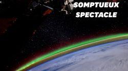 De sublimes aurores boréales filmées depuis
