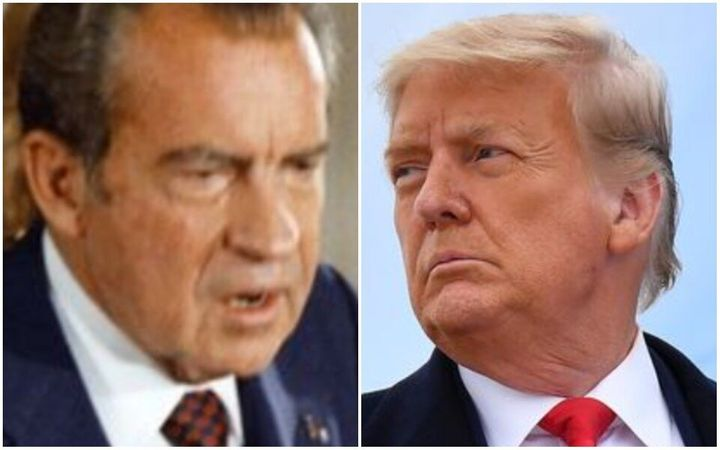 Richard Nixon spent his final days in introspection while Donald Trump is likely not doing the same, Carl Bernstein said.
