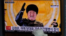 North Korea Shows Off New Submarine-Launched Missiles In Military Parade