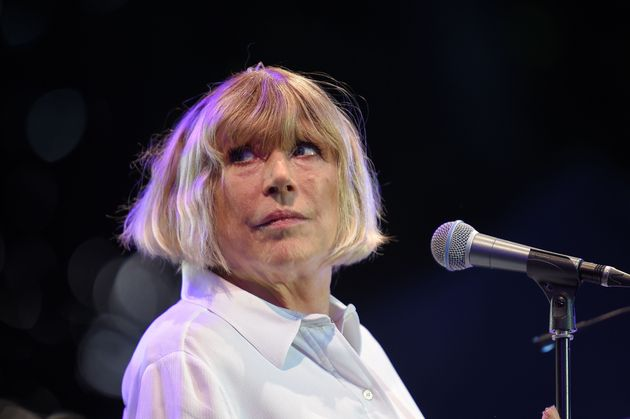 La chanteuse Marianne Faithfull lors de la 23e édition du Festival Cognac Blues Passion le 8 juillet