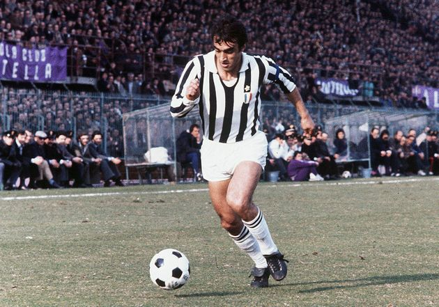 Pietro Anastasi of Juventus in action during the Serie A 1972-73, Italy. (Photo by Alessandro Sabattini/Getty