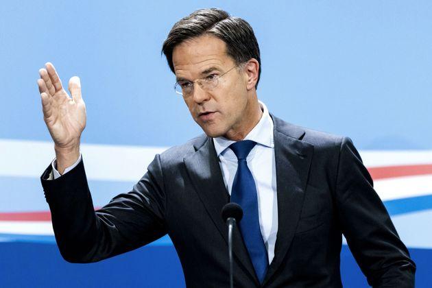 Mark Rutte, primer ministro de Países