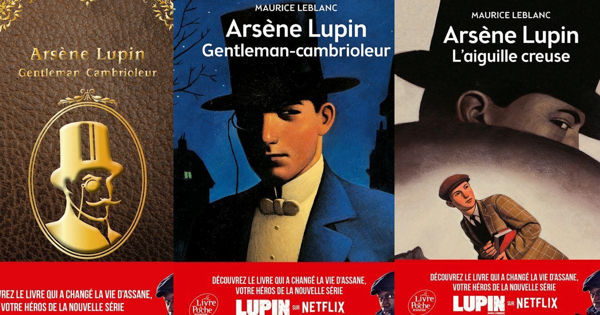 Une réédition XXL des livres d'Arsène Lupin grâce à la série