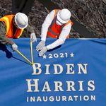 Après l'épisode du Capitole, la sécurité à l'investiture de Biden digne d'un théâtre de