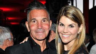 LOS ANGELES, CA - APRIL 18:  Designer Mossimo Giannulli and actress Lori Loughlin attend LACMA's 50th Anniversary Gala sponsored by Christie's at LACMA on April 18, 2015 in Los Angeles, California.  (Photo by Donato Sardella/Getty Images for LACMA)