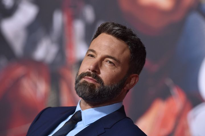 """Ben Affleck at the premiere of """"'Justice League"""" at Dolby Theatre on Nov. 13, 2017, in Hollywood."""