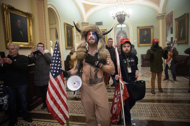 A pro-Trump mob invades the U.S. Capitol on Jan. 6, 2021, bent on violence, destruction and halting the...