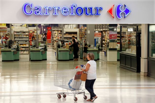 Couche-Tard renonce à racheter Carrefour (photo d'illustration, Carrefour Bercy, Charenton Le...