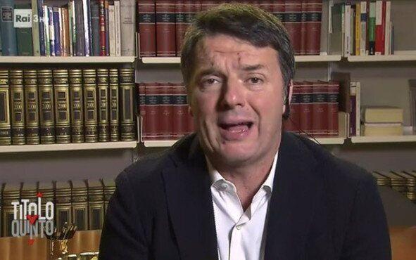 Matteo Renzi questa sera ospite di Paolo Del Debbio in  Diritto e Rovescio