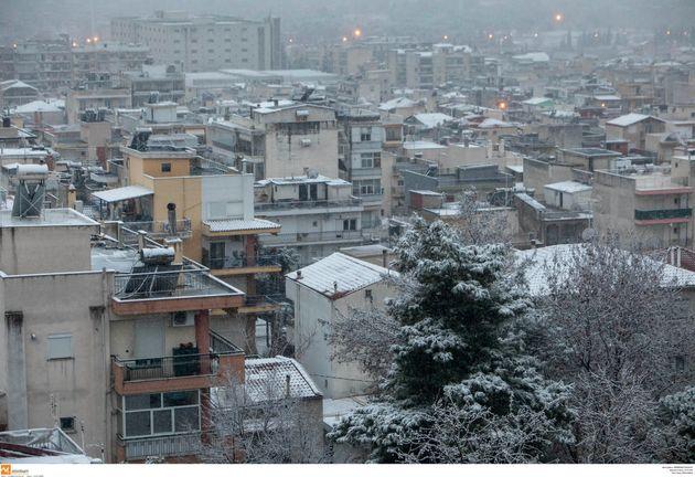 «Λέανδρος»: Επέλαση του χιονιά σε Αττική, Κεντρική Ελλάδα, Θεσσαλία, Ηπειρο και