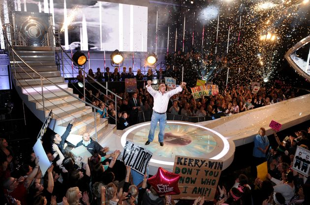 Paddy won Celebrity Big Brother in