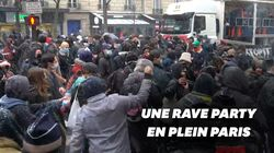 À Paris, la police met fin à une rave party en marge de la manif contre la loi sécurité