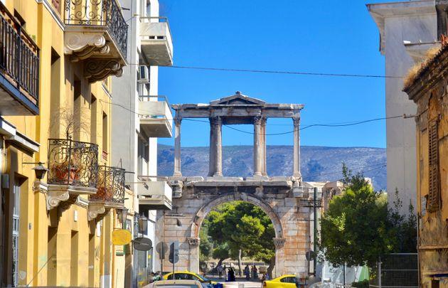 Η Πύλη του Αδριανού στην