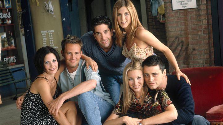 Los actores de 'Friends'.