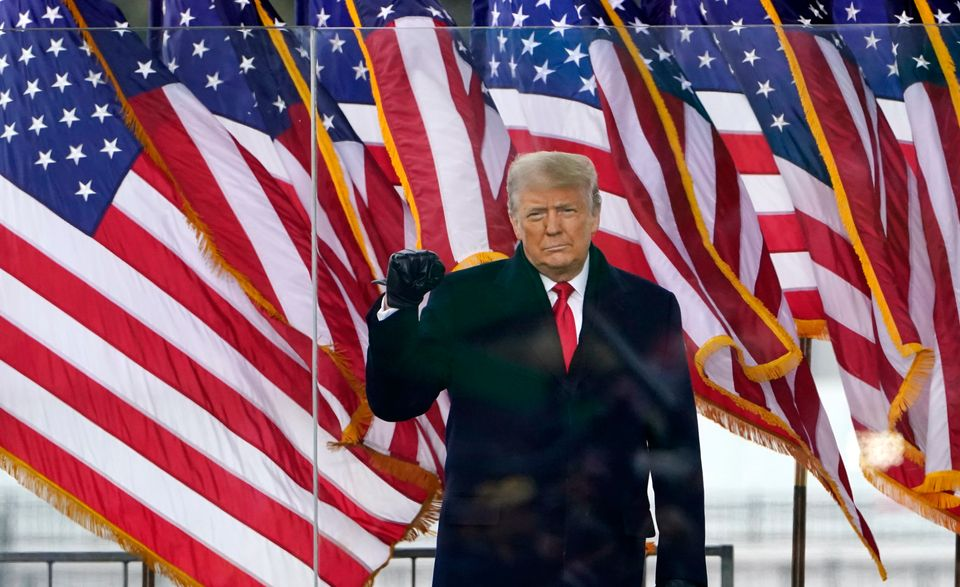 On Jan. 6, President Donald Trump encouraged his supporters to march to the U.S. Capitol and challenge...
