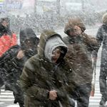 오늘 오후부터 눈: 특히 이 시간대에 많은 눈이 내릴