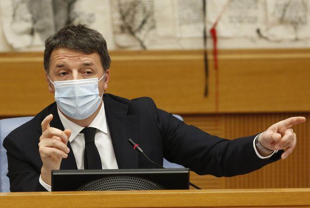 ROME, ITALY - JANUARY 13.2021: Italian Senator, former premier and head of the political party 'Italia...